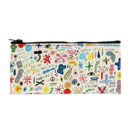Pencil Pouch-Doodle Party