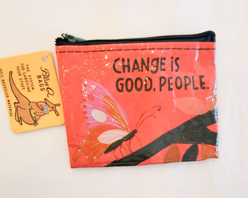 Coin Pouch-Change is good