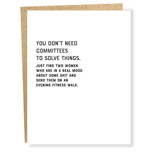 Committees Card