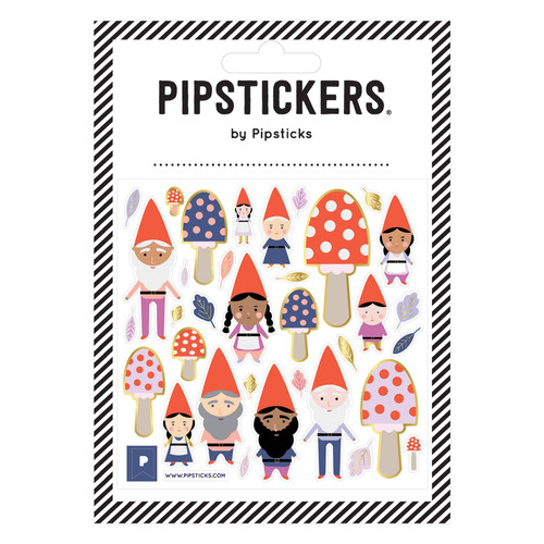 Pipstickers-Getting to Gnome You