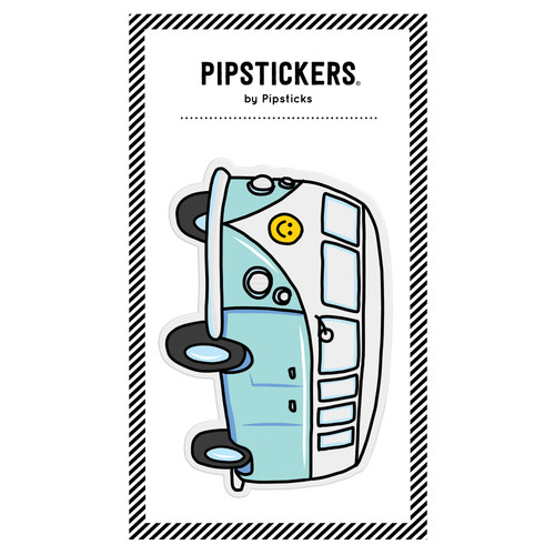 Pistickers-Big Puffy Vintage Bus
