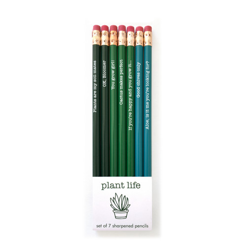 Pencil Set-Plant Life
