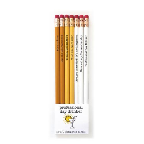Pencil Set-Day Drinker