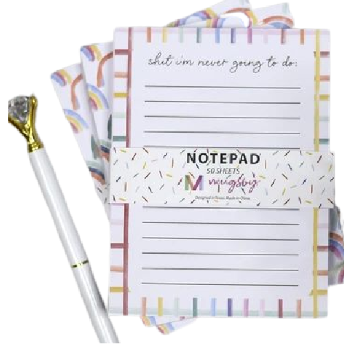 Shit I'm Never Going to Do Notepad