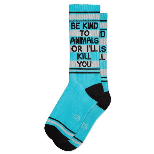 Gym Socks-Be Kind to Animals