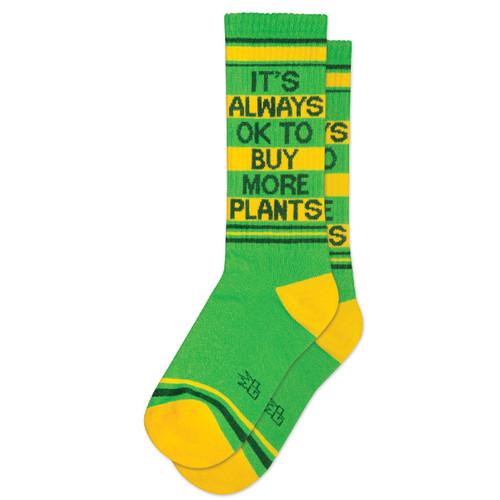 Gym Socks-Ok to Buy More Plants
