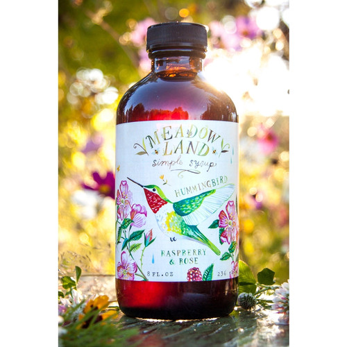Simple Syrup-Hummingbird:Raspberry and Rose