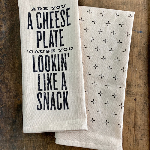 Tea Towel-Are You A Snack?