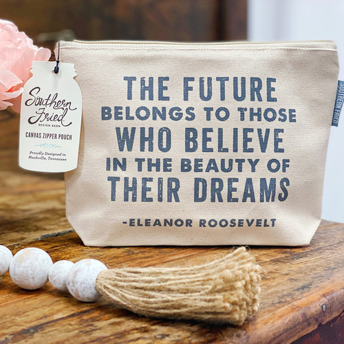 Canvas Pouch-The Future Belongs