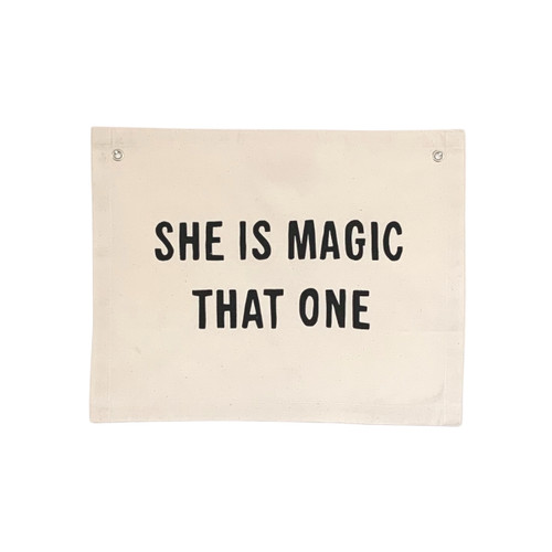 She is Magic That One Banner