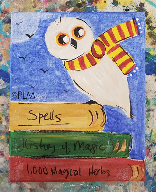 Hedwig the Owl Paint at Home Kit