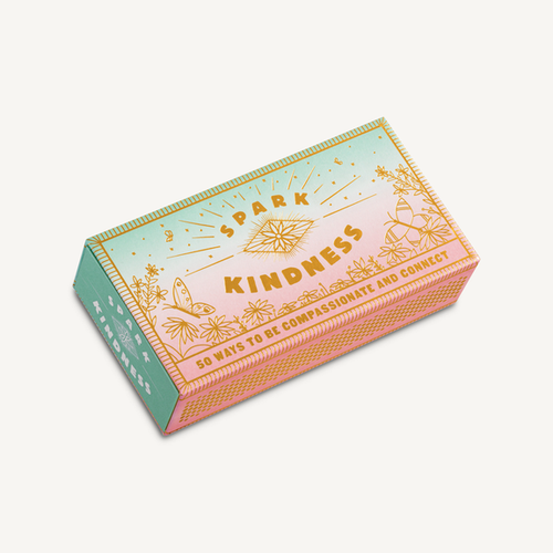 A cute faux matchbox with 'matches' inside, each one printed with an idea to spark more kindness in your world! Makes a lovely family activity, Grad Gift, Mother's Day or Teacher gift.