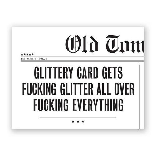 Glittering Card