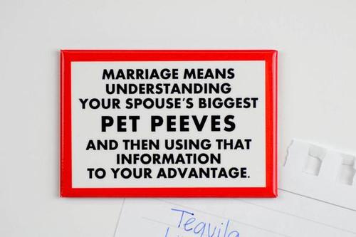 Pet Peeves Magnet