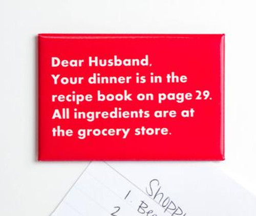 Dear Husband Magnet