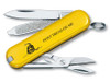 VICTORINOX SWISS ARMY GADSDEN FLAG CLASSIC KEYCHAIN KNIFE. MODEL 53076. CUTLERY SHOPPE