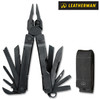"Leatherman 831105 Super Tool 300 - 4.5"" Closed - 19 Tools - Black Oxide Finish - Black Nylon Molle Sheath"