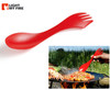 "Light My Fire Spork Large - 9.9"" Perfect for Stirring and Serving"