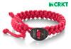 """CRKT 9350FL Quick Release Paracord Bracelet – 11"""" Fuschia Paracord Bracelet - CUTLERY SHOPPE"""