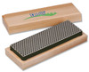 "DMT W6X 6"" Diamond Whetstone™ Sharpener - Extra-Coarse w/Hardwood Case"