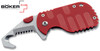 BOKER 01BO584 CLB RESCOM RESCUE FOLDING KNIFE. CUTLERY SHOPPE