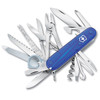 "Victorinox Swiss Army #53507 SwissChamp 91mm (3.58"") Sapphire Blue Translucent - CUTLERY SHOPPE"