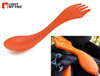 Light My Fire SporkCase Travel/Storage Case - Includes 1 Spork - Orange