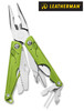 "Leatherman 831827 Leap – For Younger Users – 3.30"" Closed – 12 Tools – Green Handles - NEW VERSION"