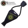 Ultimate Survival 1002 JetScream Whistle - Black - Ear-Piercing 122dB Shriek!
