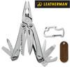 "Leatherman 831429 Sidekick - 3.8"" Closed - 14 Tools - Outside Accessible Blades - Leather Sleeve Sheath"