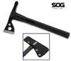 "SOG Knives F06TN FastHawk - 2"" Black Finish Axe Head - Black Glass Reinforced Nylon Handle - Black Ballistic Nylon Sheath - CUTLERY SHOPPE"
