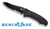 Benchmade 950SBK-1 Osborne AXIS Rift - Black Textured G-10 Scales - BK1 Combo Edge