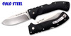 "COLD STEEL 30ULH ULTIMATE HUNTER. CTS-XHP 3.5"" PLAIN EDGE BLADE. BLACK G-10 HANDLE. CUTLERY SHOPPE"