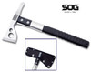 "SOG Knives F06PN FastHawk - 2"" Satin Finish Axe Head - Black Glass Reinforced Nylon Handle - Black Ballistic Nylon Sheath - CUTLERY SHOPPE"