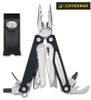"""Leatherman 830674 Charge ALX - 4"""" Closed - 18 Tools - Black Finish Handle - Black Leather Premium Sheath - DISCONTINUED - ONLY 1 LEFT"""