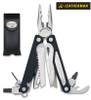 "Leatherman 830674 Charge ALX - 4"" Closed - 18 Tools - Black Finish Handle - Black Leather Premium Sheath - CUTLERY SHOPPE"