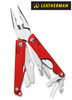 """Leatherman 831833 Leap – For Younger Users – 3.30"""" Closed – 12 Tools – Red Handles - NEW VERSION"""
