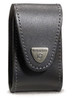 VICTORINOX SWISS ARMY 33240 BLACK LEATHER BELT POUCH FOR SWISSCHAMP XLT. CUTLERY SHOPPE