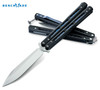 "BENCHMADE MODEL 51 BALI-SONG BUTTERFLY KNIFE.  4.25"" PLAIN EDGE D2 TOOL STEEL BLADE. CUTLERY SHOPPE"