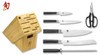 Shun Classic 7 Piece Damascus Knife Set Bamboo Block  DM2003B  Cutlery Shoppe