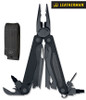 "Leatherman 830795 Charge ALX - 4"" Closed - 18 Tools - Black Finish - Black Nylon Molle Sheath - DISCONTINUED - ONLY 4 LEFT"