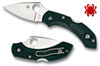 "SPYDERCO C28PGRE2 DRAGONFLY 2 LIGHTWEIGHT. 2.25"" ZDP-189 PLAIN EDGE BLADE. BRITISH RACING GREEN FRN HANDLE. CUTLERY SHOPPE"