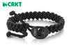 """CRKT 9350KL Quick Release Paracord Bracelet – 11"""" Black Paracord Bracelet  - CUTLERY SHOPPE"""