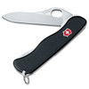 VICTORINOX SWISS ARMY 54895 ONE HAND OPENING SENTINEL NON SERRATED BLADE LOCKBACK. 111MM CLOSED. CUTLERY SHOPPE
