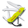 "VICTORINOX SWISS ARMY #53900 0.8623.MWN RESCUE TOOL 111mm (4.37"") FLUORESCENT YELLOW. CUTLERY SHOPPE"