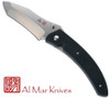 "AL MAR KNIVES AM-PA2 PAYARA FOLDER. 4.0"" VG-10 BLADE. BLACK TEXTURED G-10 HANDLE. CUTLERY SHOPPE"