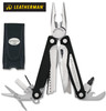 "Leatherman 830663 Charge AL - 4"" Closed - 17 Tools - Black Finish Handle - Black Nylon Standard Sheath - CUTLERY SHOPPE"