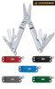 "Leatherman 64330101K Micra Red - 2.5"" Closed - 10 Tools - Spring Action Scissors - Red Anodized Aluminum Handle"