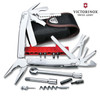 VICTORINOX SWISS ARMY SWISSTOOL SPIRIT PLUS W/RATCHET, 105MM MULTI-TOOL, MADE IN SWITZERLAND. WWW.CUTLERYSHOPPE.COM