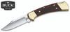 "BUCK KNIVES 0112BRS 0112BRS-B RANGER FOLDING KNIFE. 3.0"" 420HC SATIN FINISH CLIP POINT BLADE. EBONY DYMALUX® HANDLE. BLACK LEATHER SHEATH. CUTLERY SHOPPE"